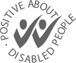 Footer Positive about disabled people